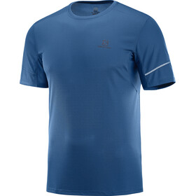 Salomon Agile Running T-shirt Men blue